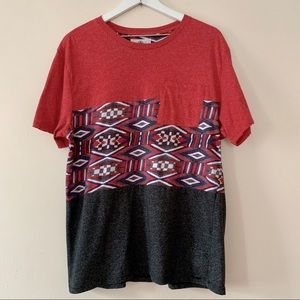 On The Byas for PacSun Aztec Pocket Tee